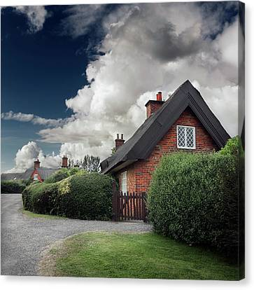 The Cottage Canvas Print by Ian David Soar