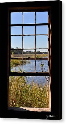 The Cotton Dock Canvas Print by Melissa Wyatt