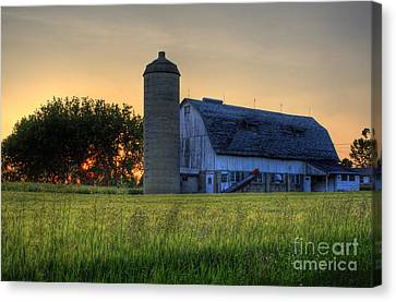 The Country Sunset Canvas Print by Joel Witmeyer