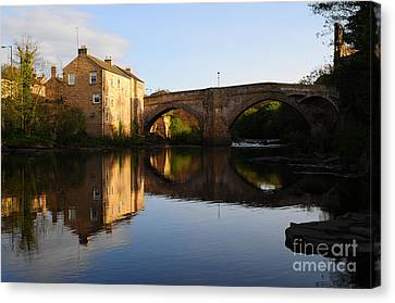The County Bridge Canvas Print