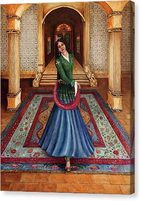 The Court Dancer Canvas Print