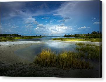 Storm Canvas Print - The Cove by Marvin Spates