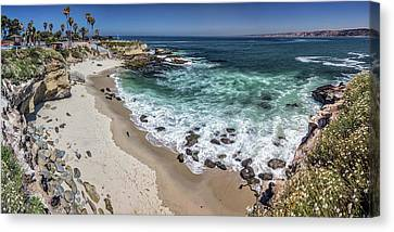 The Cove Canvas Print by Peter Tellone