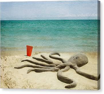 The Creature Canvas Print by Juli Scalzi