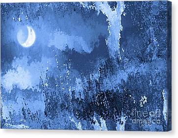 The Crescent Moon Canvas Print