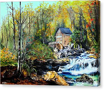 Glade Creek Canvas Print by Farzali Babekhan
