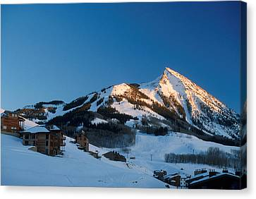 The Crested Butte Canvas Print by Jerry McElroy
