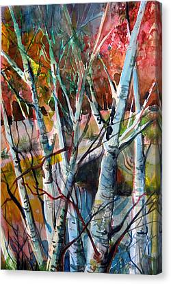 The Cries Of Autumn Canvas Print by Mindy Newman