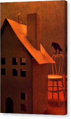 Canvas Print featuring the photograph The Crows House by Jeff  Gettis