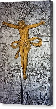The Crucifixion Canvas Print by Don Columbus