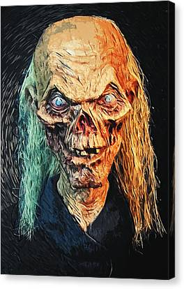The Crypt Keeper Canvas Print by Taylan Apukovska