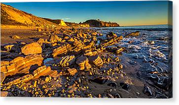 The Crystal Cove Canvas Print by Peter Tellone