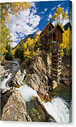 Crystal Colorado Canvas Print - The Crystal Mill by Guy Schmickle
