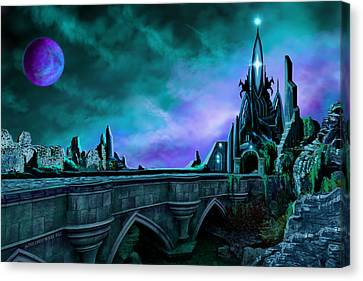 The Crystal Palace - Nightwish Canvas Print by James Christopher Hill