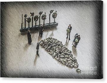 The Curious Case Of Sgt Peppercorn Canvas Print by Steve Purnell