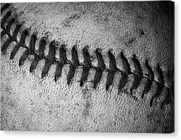 The Curve Ball Canvas Print by David Patterson