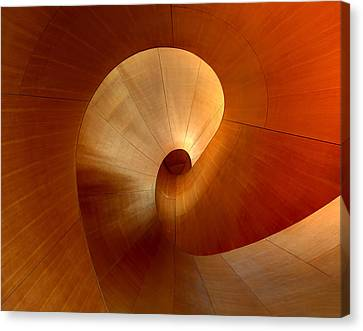 The Curve Canvas Print by Roland Shainidze