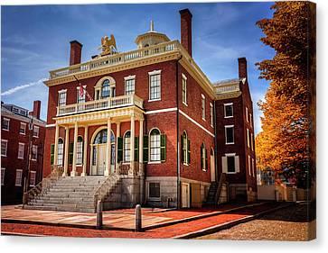 The Custom House Salem Massachusetts  Canvas Print