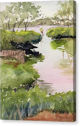 Siesta Key Canvas Print - The Cut by Kris Parins