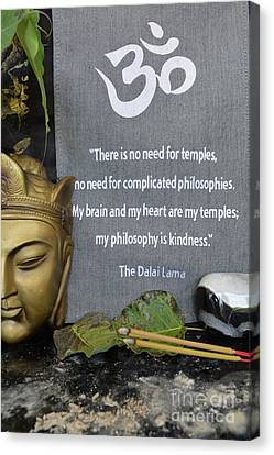 The Dalai Lama Quote 3 Canvas Print by To-Tam Gerwe