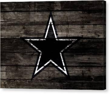 The Dallas Cowboys 3b                              Canvas Print by Brian Reaves