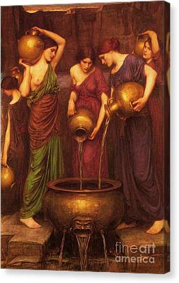 The Danaides Canvas Print by Pg Reproductions