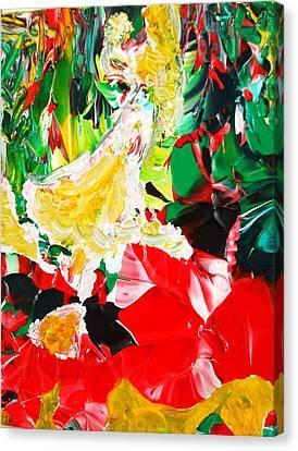 The Dance Canvas Print by Carmen Doreal
