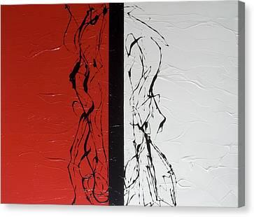 The Dance Canvas Print by Carolyn Repka