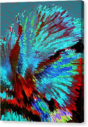 The Dance Canvas Print by Gerlinde Keating - Galleria GK Keating Associates Inc