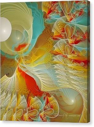The Dance Of Life Canvas Print by Gayle Odsather