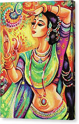 The Dance Of Tara Canvas Print by Eva Campbell
