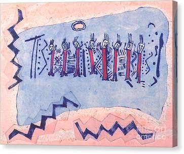 The Dance Of Toro Muerto Canvas Print