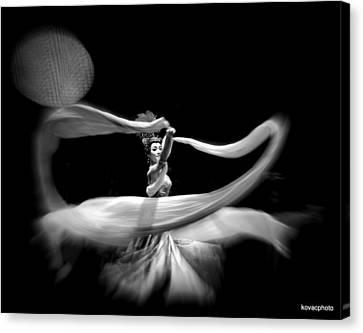 The Dancer Canvas Print by David Kovac