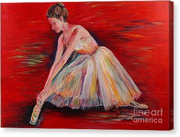 The Dancer Canvas Print by Nadine Rippelmeyer