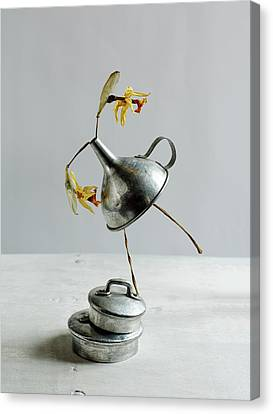 The Dancer Canvas Print by Nailia Schwarz