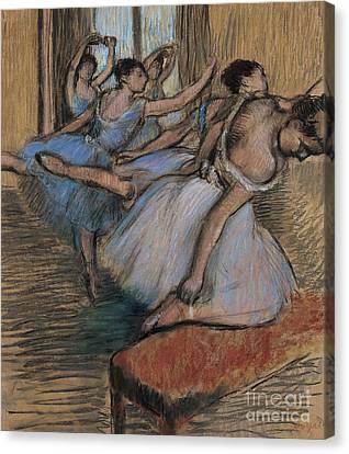 The Dancers Circa 1900 Canvas Print