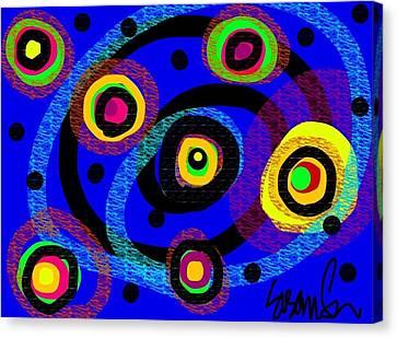 The Dancin Man Patrick Swayze Canvas Print