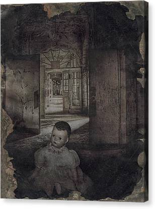 The Dark Place Canvas Print by Cindy Nunn