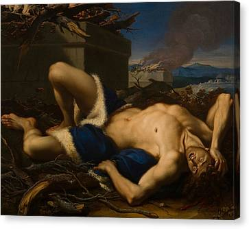 The Death Of Abel Canvas Print