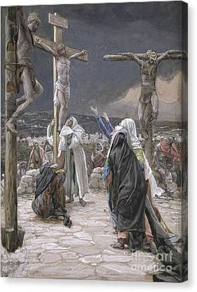 Crucifixion Canvas Print - The Death Of Jesus by Tissot
