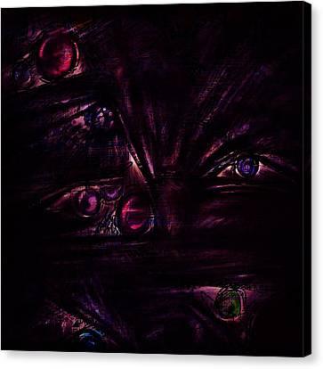 The Deceiver Canvas Print by Rachel Christine Nowicki