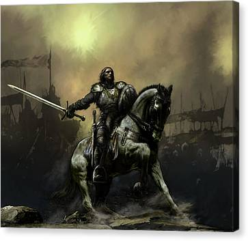 The Defiant Canvas Print