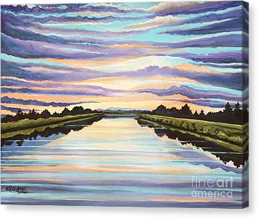 The Delta Experience Canvas Print by Elizabeth Robinette Tyndall