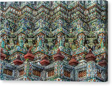 The Demons Of The Temple Canvas Print