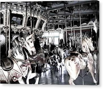 The Dentzel Carousel - Glen Echo Park Canvas Print