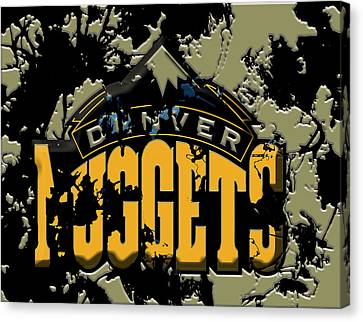 The Denver Nuggets 1b Canvas Print by Brian Reaves