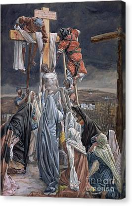 The Descent From The Cross Canvas Print by Tissot