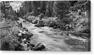 The Deschutes River Panorama Canvas Print by Twenty Two North Photography
