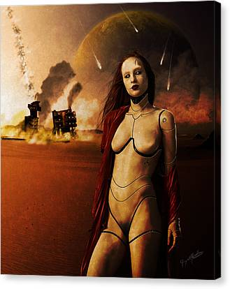 The Destroyer Canvas Print by Jeremy Martinson