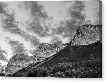 The Devil's Stair-steps Canvas Print